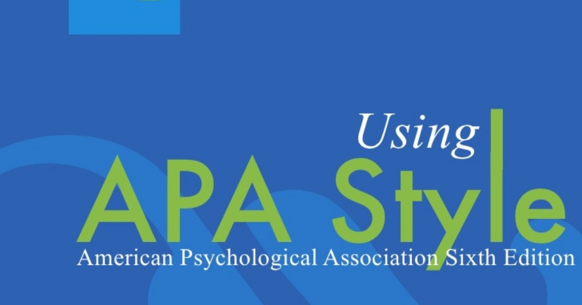 how to use apa style format correctly for your academic writing
